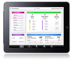 Lutron energy home iPad